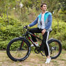 """26"""" Fat Tire Electric Bicycle 6-Speed Beach EBike 36V 10AH Power Lithium Battery"""
