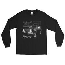 Retro Chevy K5 Blazer Men's Long Sleeve Shirt