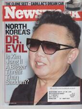 Newsweek: North Korea's Dr. Evil- Kim Jong II 1/13/03