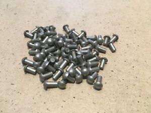 "1/8"" x 1/4"" Aluminium Round  Head Rivets."