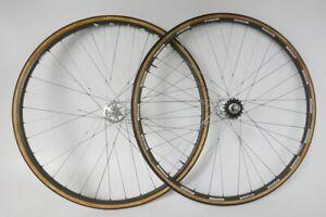 Campagnolo C-Record Sheriff Star Pista / Wolber Laufradsatz, Bahnrad, Fixie (29)