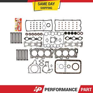 Full Gasket Set Head Bolts for 98-04 Acura Honda Isuzu V6 3.2 3.5L 6VE1 6VD1