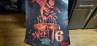Universal Studios Halloween Horror Nights Sweet 16 Jack Poster HHN!!! NEW!!!