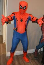 Amazing Spiderman homecoming Costume Adult Halloween cosplay civil war US seller