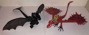 How to Train Your Dragon Toothless and Hookfang