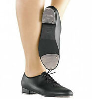 So Danca TA04 Child Size 9.5 Medium Black Lace-Up Tap Shoes
