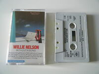 WILLIE NELSON WITHOUT A SONG CASSETTE TAPE CBS 1983