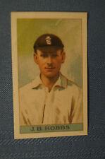 1912 Reeves Chocolates Cricket Prints by County Print 1993 - J.B. Hobbs.