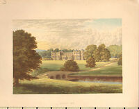 C1880 Vittoriano Stampa ~ Audley End