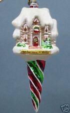 Radko 1011655 Huasicle Twist - Tan House - Retired Ornament