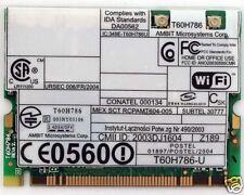 IBM 11B/G 108Mbps Wireless Mini PCI T40 T41 T42 R50 X31