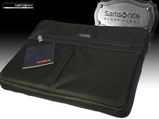 "SAMSONITE Executive LapTop Sleeve Case Leather Polyester BLACK LABEL OPTO 16"" 41"