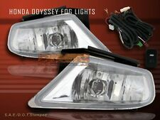 Fit For 05 06 07 HONDA ODYSSEY BUMPER FOG LIGHTS W/ SWITCH SIDE DRIVING LAMPS