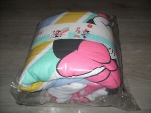 Disney Baby Daisy Duck & Minnie Mouse 100% Cotton Cot Quilt (4 Tog) - NEW
