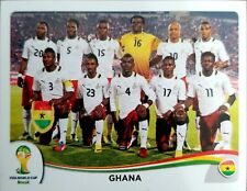 2014 Panini World Cup Stickers Soccer Ghana #527
