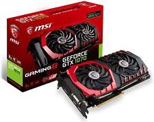 MSI GTX 1070 GAMING X 8G GeForce 8 GB GDDR5 VR Ready Graphics Card - Black
