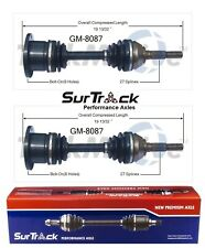 Chevy S10 Blazer GMC Jimmy Typhoon Olds Pair Front CV Axle Shafts SurTrack Set