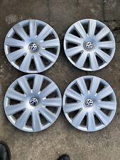 4 Stück Original VW Radkappen Radzierblenden 16 Zoll Sharan