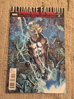 Ultimate Fallout #2 Miles Morales Spider-Man No More 1st Print [Marvel Comics]