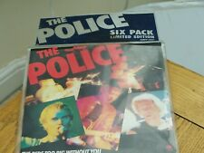 THE POLICE LIMITED EDITION VINYL SINGLES 6 PACK.
