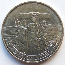 """1984 Canada """"Jacques Cartier 1534 - 1984"""" 1 Dollar Coin  SB5595"""