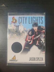 2010-11 Pinnacle City Lights Materials Game Used GU 67 Jason Spezza /399