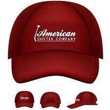 American Shifter Logo Baseball Cap ASCPROB001 muscle truck rod hot street rat