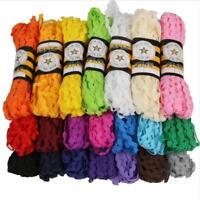25Yards 5mm Colorful Rik Rak Ric Rac S Bend Zig Zag Trim Ribbon Trimming Braid