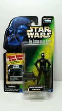 STAR WARS - POWER OF THE FORCE FREEZE FRAME DEATH STAR DROID ACTION FIGURE