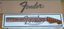 Fender® Roasted Maple-Pau Ferro Strat Neck~21 Tall Frets~9.5 Radius~C~Brand New