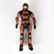 "2011 Microsoft Halo 5"" Bronze Orange Articulated Soldier Action Figure"