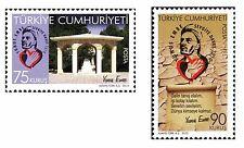 TURKEY 2010, YUNUS EMRE, MINSTREL, POET, MNH