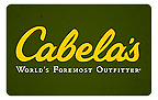 $100.00 Cabela's Gift Card (2 / $50.00 gift cards - totalling $100.00)