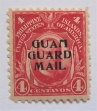 Mint 1930 Guam Guard Mail M2 MH OG