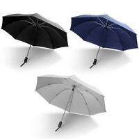 EE/_ LN/_ Automatic Folding Upside Down Sun Rain Umbrella Parasol Firm Windproof E