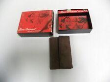 UNUSED Vintage Beau Brummel Sueded Leather Key Case (A4)
