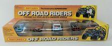 Matchbox Super Set Off Road Riders 1990 Die Cast Gift Set Cars VTG Mountain Man