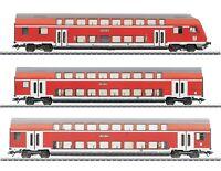 Märklin H0 43584-S Doppelstockwagen-Set der DB AG 3-teilig - NEU + OVP