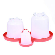Chicken Feeder Drinker Poultry Chick Hen Quail Bantam Food bottle@Vyu