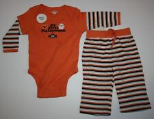 New Old Navy 2 Pc My First Halloween Pants Bodysuit Top Set 3-6 Months NWT Boys