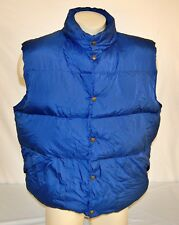 Vintage LL Bean Insulated Goose Down Puffer Vest  XL Tall  W/ Stuff Sack Camping
