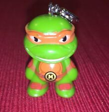 Kid Robot Teenage Mutant Ninja Turtles Michelangelo Mini  Figure Key Chain Fob