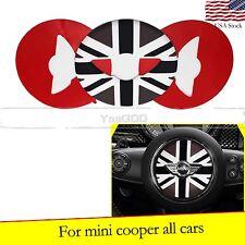 Black Jack Steering Wheel Decal Sticker For All MINI Cooper