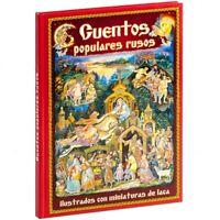 Cuentos populares Rusos Ilustrados con miniaturas de laca en español
