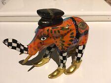 Sconto!!! TOMS DRAG Elefante Dipinto A Mano Design Contemporaneo