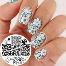 Nail Art Stamping  Stamp Plate Mixed Flower Image Template BORN PRETTY 20