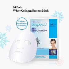 10x DERMAL White Collagen Essence Facial Face Mask Sheet Skin Pack Korea