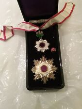 order of the Rising Sun 旭日章 Kyokujitsu-s  Japanese breast star medal 2nd class