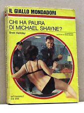 CHI HA PAURA DI MICHAEL SHAYNE? - B. Halliday [Libro,Il giallo Mondadori n. 982]