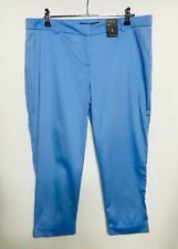 ATMOSPHERE Cropped Mid Blue Pants - Size 12 - NWT NEW